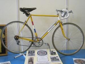 Percy Stallard massed start road bike